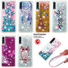 Luxury Patterned Glitter Dynamic Quicksand Liquid Silicone Case Cover Bumper Yb