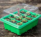 5 Set Seed Trays Plant Germination Kit Grow Starting Durable Plastic Humidity