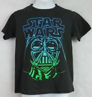 Star Wars Boys Black T-Shirt Officially Licensed Dath Vader Free Shipping $9.59 USD on eBay