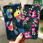 Retro Flower Ring Holder Stand Hybrid Phone Case For iPhone XS Max XR X 7 8 Plus