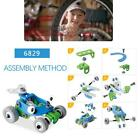 Children's Self-Assembled Model Toy Concept Car Construction Engineering Toy Set