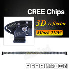 "42""inch 210W  CREE LED Light Bar Combo Offroads Bar Jeep ATV SUV UTE 4WD 43"" 44"""