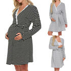 Внешний вид - Women's Maternity Nursing Nightdress For Breastfeeding Nightgown Sleepwear Dress