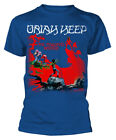 Uriah Heep 'The Magicians Birthday' (Blue) T-Shirt - NEW & OFFICIAL!