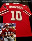 NEW Steve Bartkowski Atlanta Falcons Mens MN Red Home Retro Jersey Vick Favre
