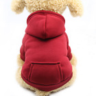 Pet Dog Hoodie Coat Jacket Puppy Cat Winter Warm Hooded Costume Apparel