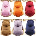 Внешний вид - Pet Dog Hoodie Coat Jacket Puppy Cat Winter Warm Hooded Costume Apparel