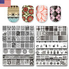 BORN PRETTY Nail Stamping Plates Acrylic Template Selected Images for Polish Gel