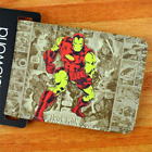 NEW DC MARVEL COMICS SUPERHEROES FAUX LEATHER WALLET - VARIOUS HERO CHOICES