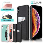 iPhone X XS Max XR 8 7 6 Case Luxury Card Slot Holder Leather Wallet Slim Cover