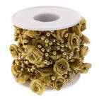 110m Beads String Flower Pearl Chain Roll Fishing Line Wedding Party Table Decor