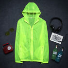 Waterproof Windproof Sports Rain Coat Adults Women Men Quick