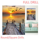 US Full Drill Sunset Landscape 5D Diamond Painting Embroider