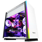 Segotep FANCY F1 Gaming Desktop Case E-ATX Mid Tower Computer Side Panel Windows