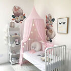 Princess Kids Mosquito Net Bed Canopy Bedcover Curtain Bedding Dome Tent Decor image