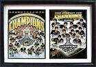 12x18 Double Frame - 2016 Stanley Cup Champions Pittsbrugh Penguins