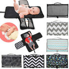 Внешний вид - 2018 Baby Portable Folding Diaper Travel Changing Pad Waterproof Mat Bag Storage