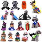 Halloween Dog Cat Puppy Clothes Cosplay Skull Party Fancy Dress Costume Hoodie