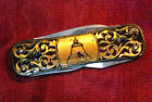 Folding Multifunctional Poket Knife Vintage Soviet Original Colletable