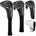 TAYLORMADE 2018 UNIVERSAL GOLF CLUB HEAD COVERS DRIVER/ FAIRWAY/  HYBRID/ PUTTER