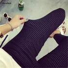 Summer New Fashion Women Vertical Striped Pants  Female Pencil Ankle-length Pant