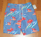 NWT Mens CHAPS Cargo Swim Trunks Blue Red Green Floral S M L XL XXL $50