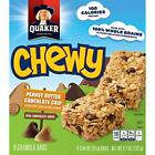 Quaker Chewy Peanut Butter Chocolate Chip Granola Bars - 8 CT