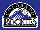Colorado Rockies Printed Vinyl Decal Sticker for Car Truck Cornhole Phone on Ebay