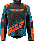 Fly Racing SNX Wild Blue/Orange Waterproof & Insulated Snowmobile Jacket