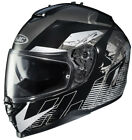 HJC IS-17 MC-5 Blur Black Full Face Motorcycle Helmet w/ Internal Sun Shield