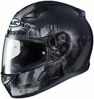 HJC CL-17 Arica Full Face Street Motorcycle Riding Race Helmet Flat Black Gray
