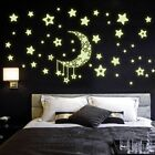 Diy Night Light Glow In The Dark Moon Stars Home Decoration New Ar5