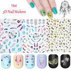 Nail 3D Decals Stickers Dream Catcher Star Heart Adhesive Nail Art Manicure