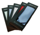 Men's DressCode Gift Boxed Neck Tie's With Sqaure Set Satin Finish