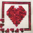 Be Mine 3-D quilt pattern by Jackie's Animas Quilts