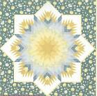 Blooming Lone Star quilt pattern by Jackie Robinson of Animas Quilts
