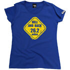 Running Tops T-Shirt Funny Novelty Womens tee TShirt - Hell And Back 26 Miles