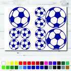 11 Football Sticker Set Blue Any Colour Wall Laptop Glass Car Vinyl Art