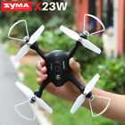 SYMA X23W Update Battery RC Drone Quadcopter FPV WIFI Camera Set Height For Gift