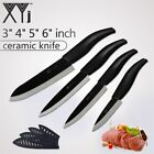 XYj Ceramic Knives Kitchen Knives Accessories Zirconia Blade 3 4 5 6 inch Chef