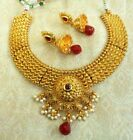 ndian Women Bridal Necklace Set Gold Plated Kundan Jewelry Buy 2 Get 10% Dis