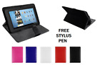 """Universal Flip Leather Case Cover Stand Fits Alcatel 1T 10 -10.1""""inch Tablet+Pen"""