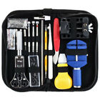147Pcs Watch Repair Tool Kit Watchmaker Back Case Battery Cover Remover Opener F