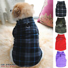 Fashion Small Pet Dog Winter Warm Coat Sweater Apparel Fleece Vest Jacket Clothe