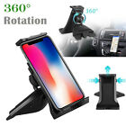 360°CD Player Slot Rotation Car Mount Holder for iPad Pro Air Tablet Phone GPS