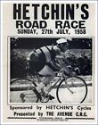 HETCHIN'S ROAD RACE SUNDAY 27th JULY 1958 PROGRAMME *** REPRODUCTION ***
