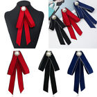 Внешний вид - Formal Commercial Lady Rhinestone Pearl Bow Tie Women Cravat Waitress Neck Wear