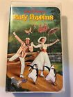 Mary Poppins Walt Disney VHS Tape with Clamshell Case Excellent NTSC