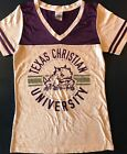 Texas Christian University Horned Frogs Shirt ladies Creative Apparel