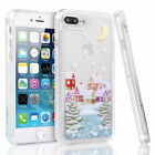 Shockproof Quicksand Dynamic Liquid Glitter Cover Case For iPhone 6 6s 7 8 Plus